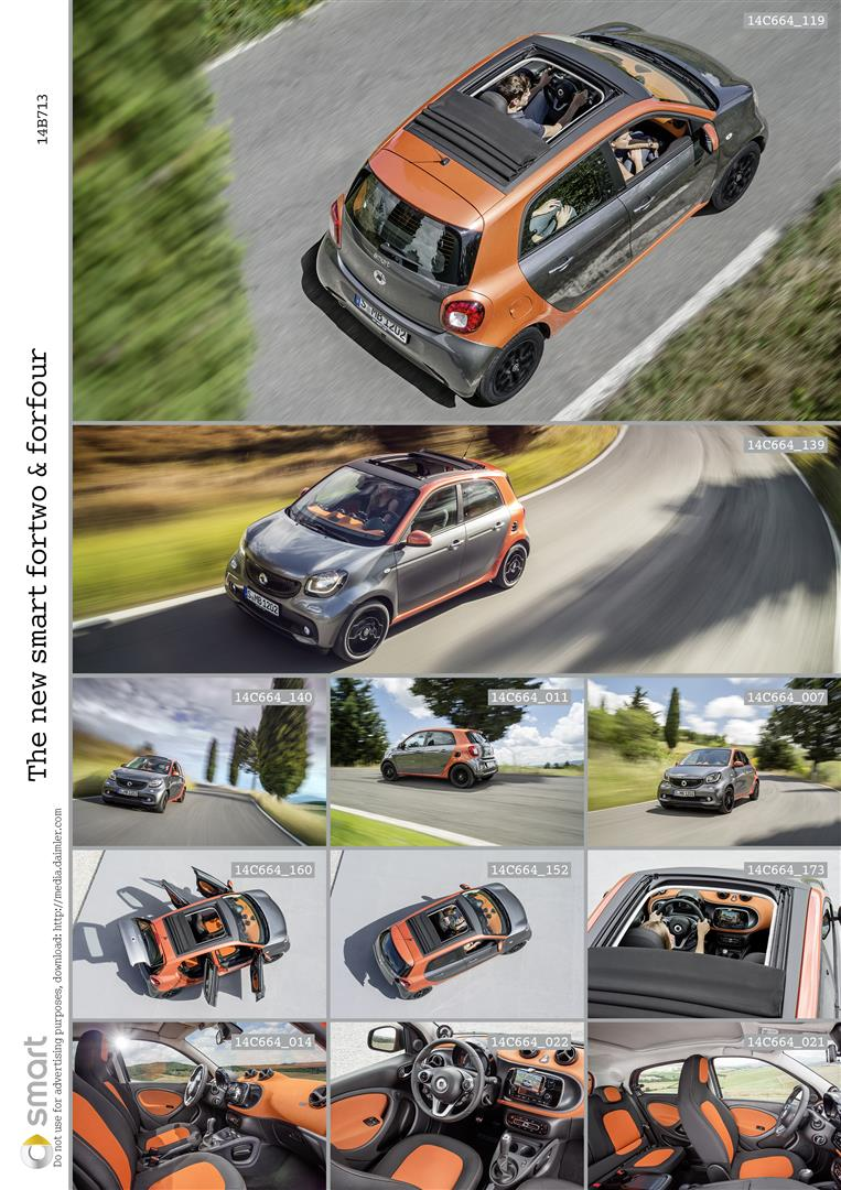2015 smart fortwo and smart forfour city cars unveiled Image #259504