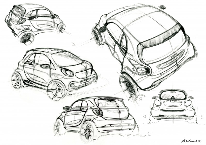 2015 smart fortwo and smart forfour city cars unveiled Image #259486