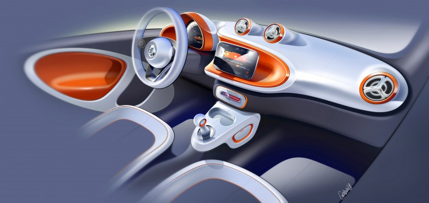 2015 smart fortwo and smart forfour city cars unveiled Image #259489