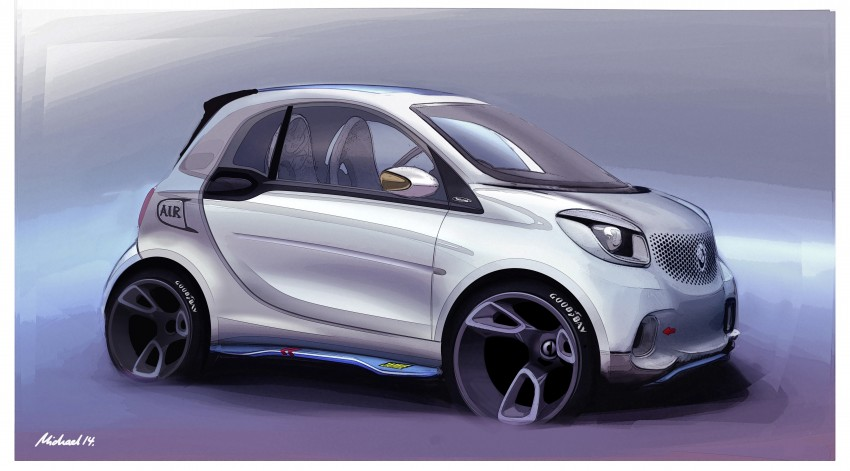 2015 smart fortwo and smart forfour city cars unveiled Image #259490