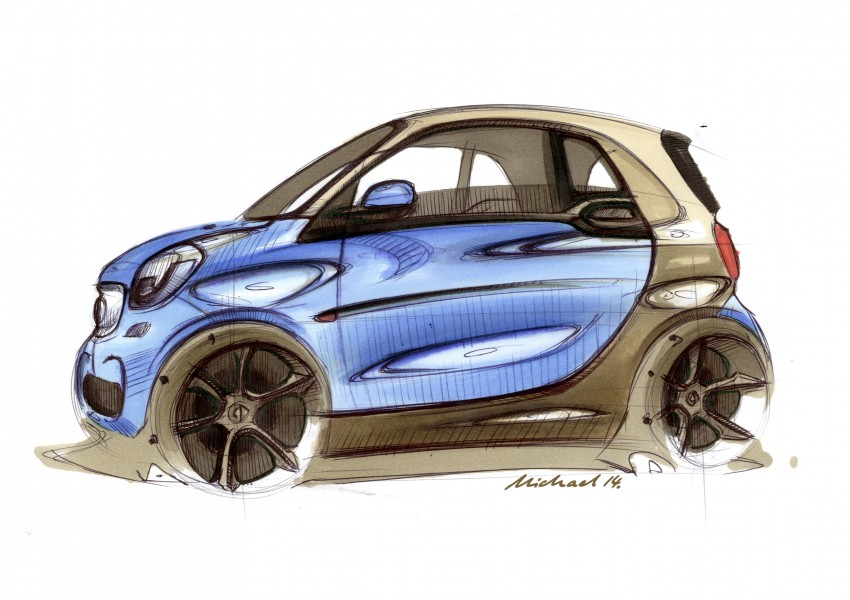 2015 smart fortwo and smart forfour city cars unveiled Image #259491