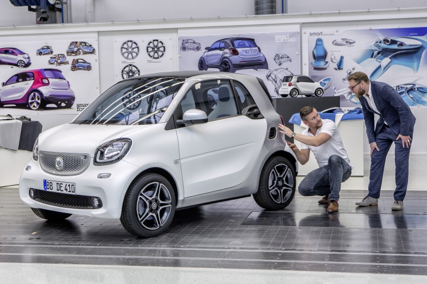 2015 smart fortwo and smart forfour city cars unveiled Image #259475