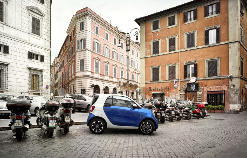 2015 smart fortwo and smart forfour city cars unveiled Image #259481