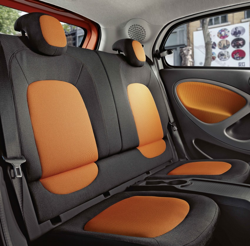 2015 smart fortwo and smart forfour city cars unveiled Image #259293