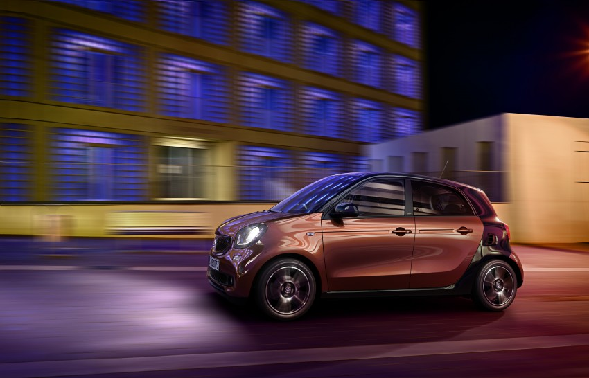 2015 smart fortwo and smart forfour city cars unveiled Image #259482