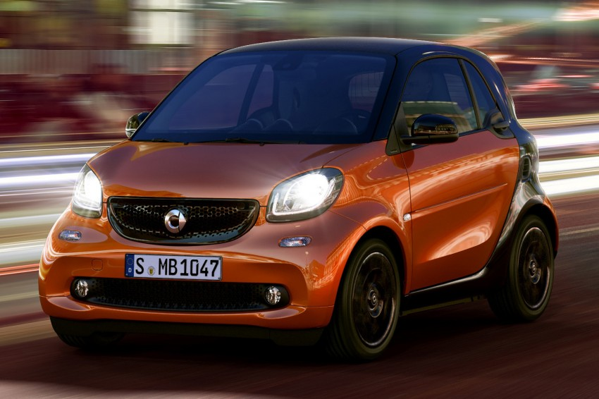 2015 smart fortwo and smart forfour city cars unveiled Image #259294