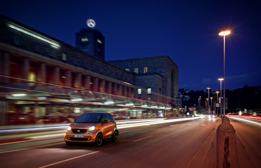 2015 smart fortwo and smart forfour city cars unveiled Image #259483