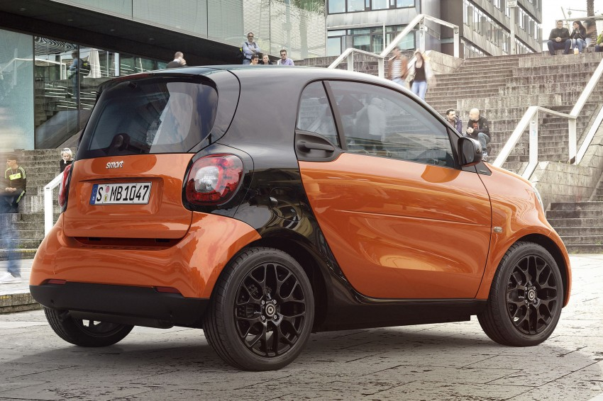 2015 smart fortwo and smart forfour city cars unveiled Image #259295