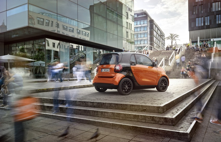 2015 smart fortwo and smart forfour city cars unveiled Image #259466