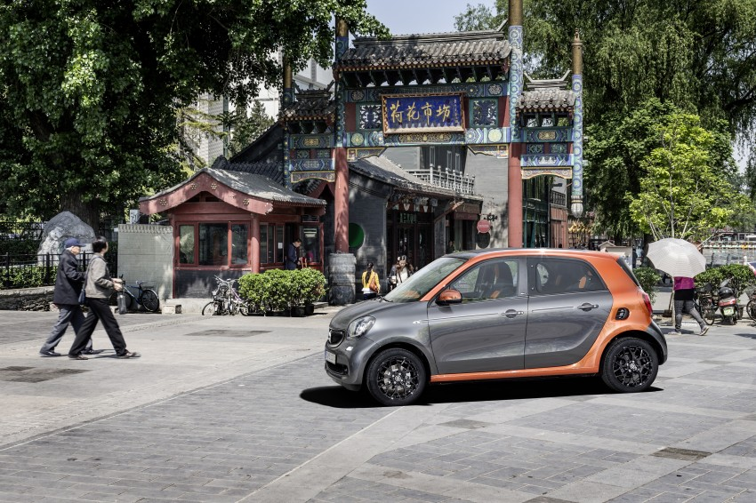2015 smart fortwo and smart forfour city cars unveiled Image #259468