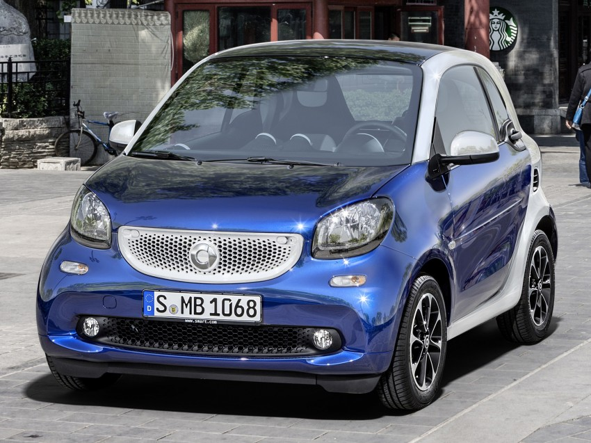 2015 smart fortwo and smart forfour city cars unveiled Image #259296