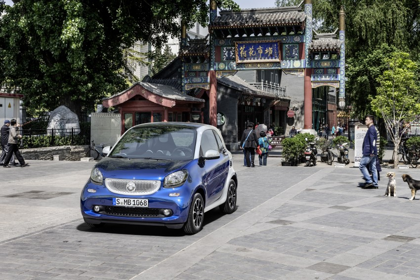 2015 smart fortwo and smart forfour city cars unveiled Image #259469
