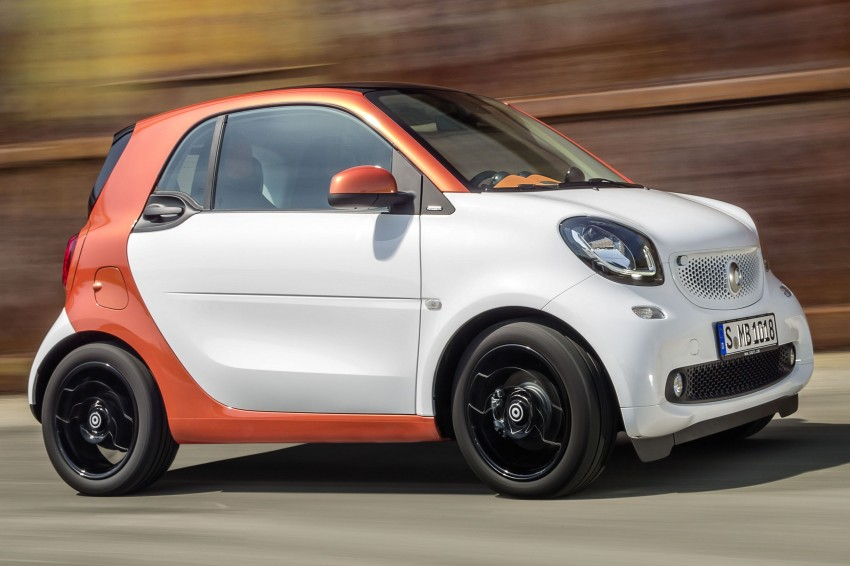2015 smart fortwo and smart forfour city cars unveiled Image #259255