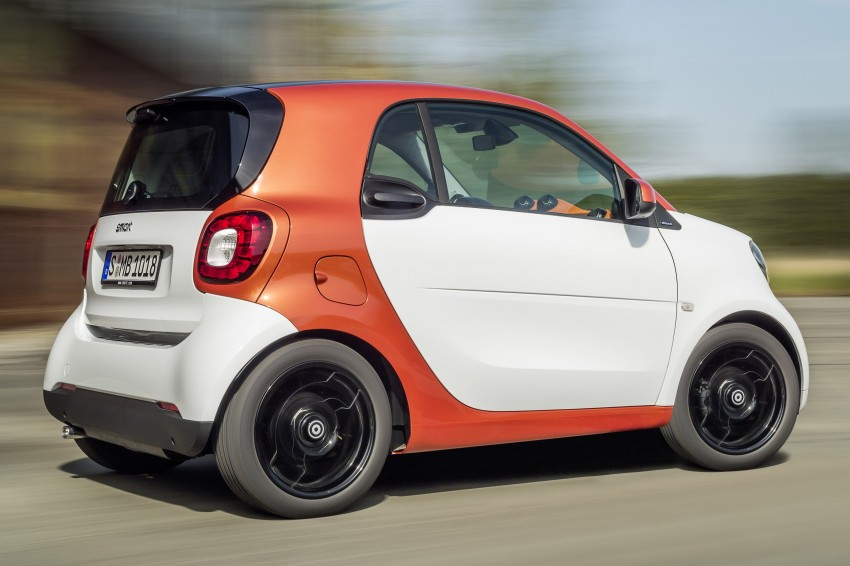 2015 smart fortwo and smart forfour city cars unveiled Image #259257
