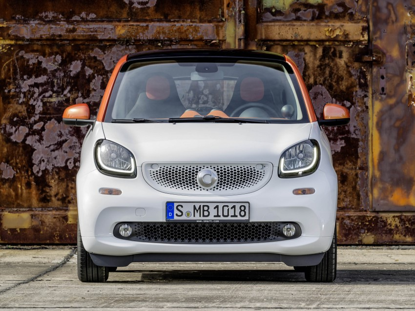 2015 smart fortwo and smart forfour city cars unveiled Image #259258