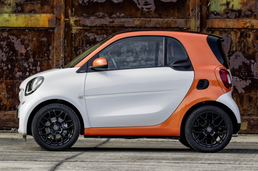 2015 smart fortwo and smart forfour city cars unveiled Image #259260