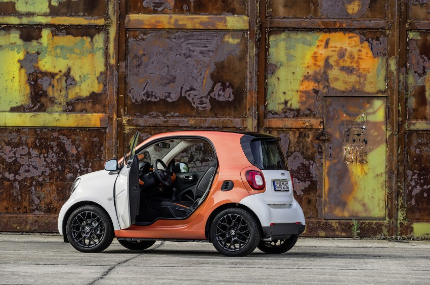 2015 smart fortwo and smart forfour city cars unveiled Image #259462