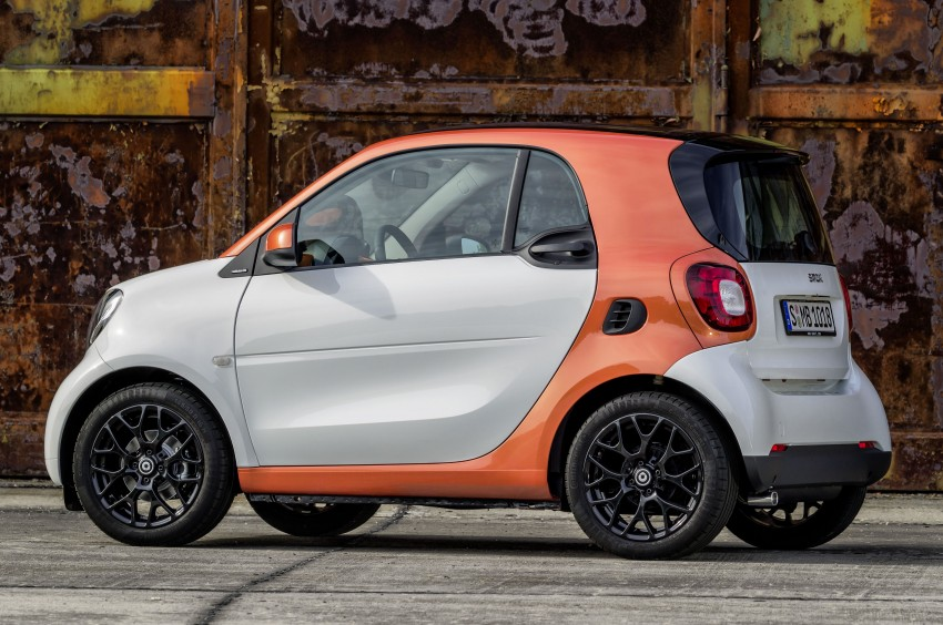 2015 smart fortwo and smart forfour city cars unveiled Image #259261