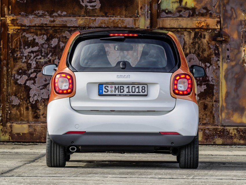 2015 smart fortwo and smart forfour city cars unveiled Image #259262