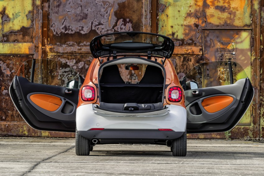 2015 smart fortwo and smart forfour city cars unveiled Image #259263