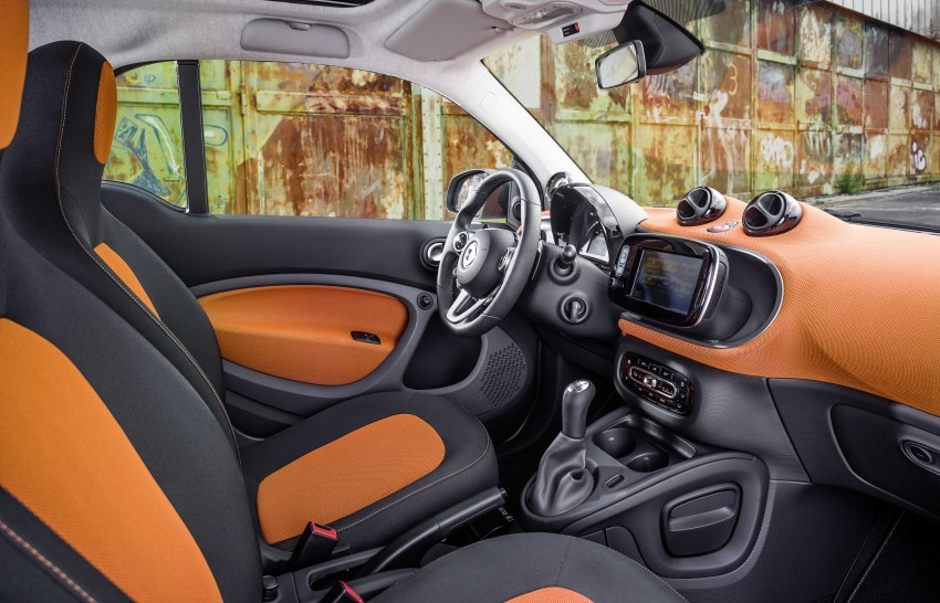 2015 smart fortwo and smart forfour city cars unveiled Image #259264