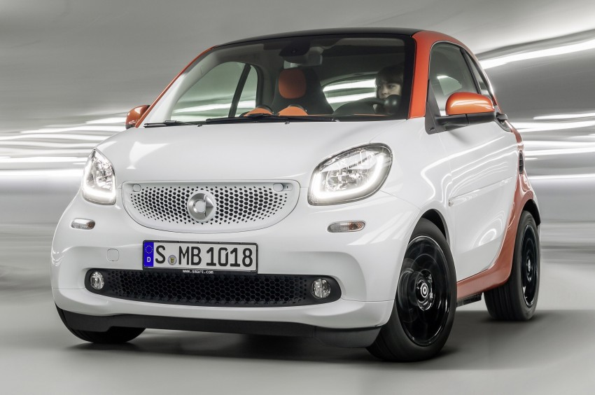2015 smart fortwo and smart forfour city cars unveiled Image #259265