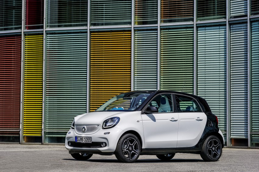 2015 smart fortwo and smart forfour city cars unveiled Image #259464