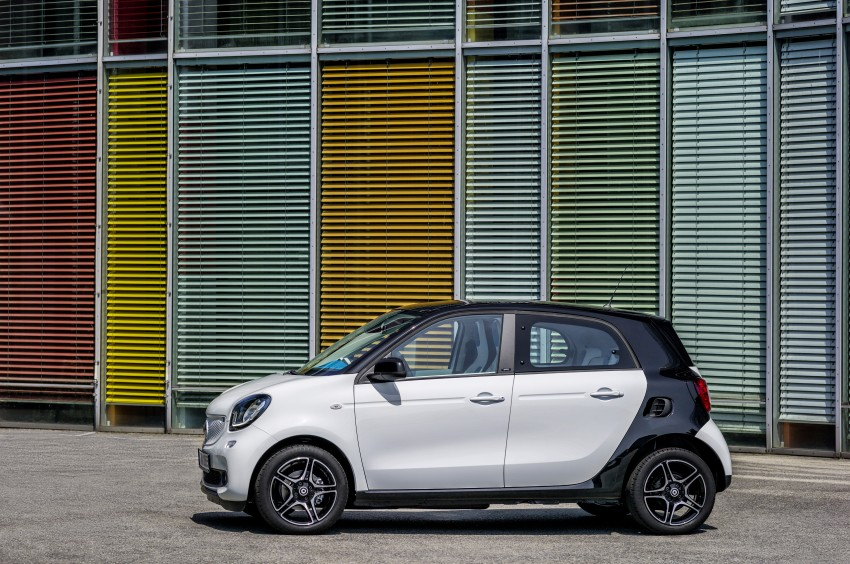 2015 smart fortwo and smart forfour city cars unveiled Image #259465