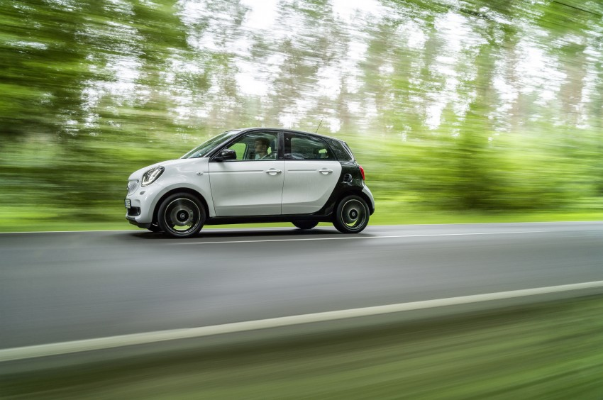 2015 smart fortwo and smart forfour city cars unveiled Image #259450