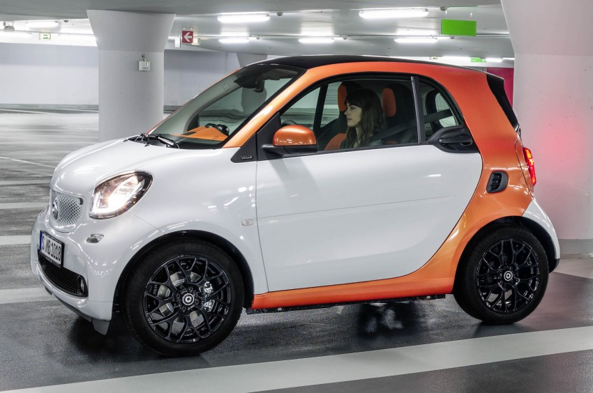 2015 smart fortwo and smart forfour city cars unveiled Image #259266