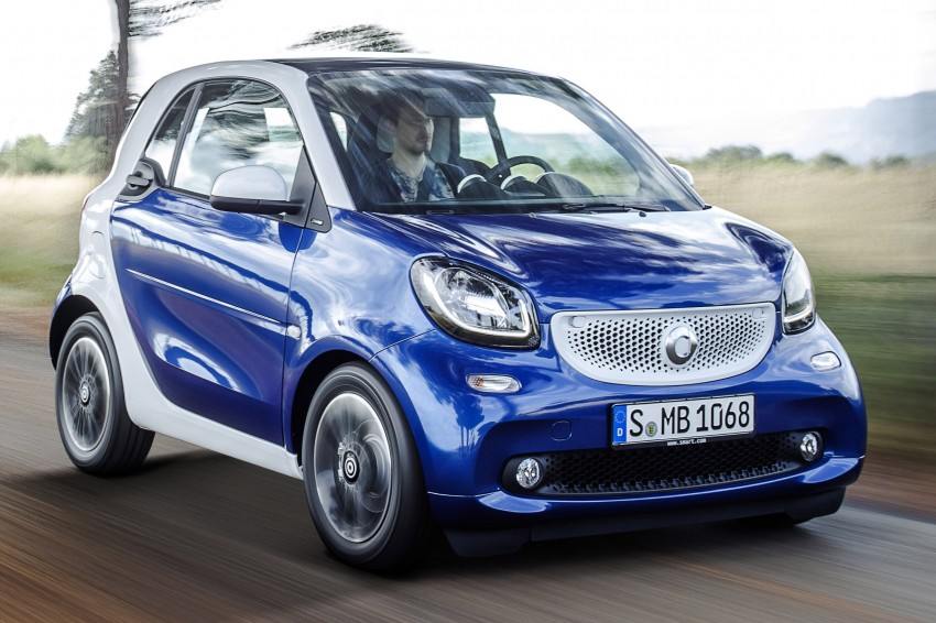 2015 smart fortwo and smart forfour city cars unveiled Image #259267