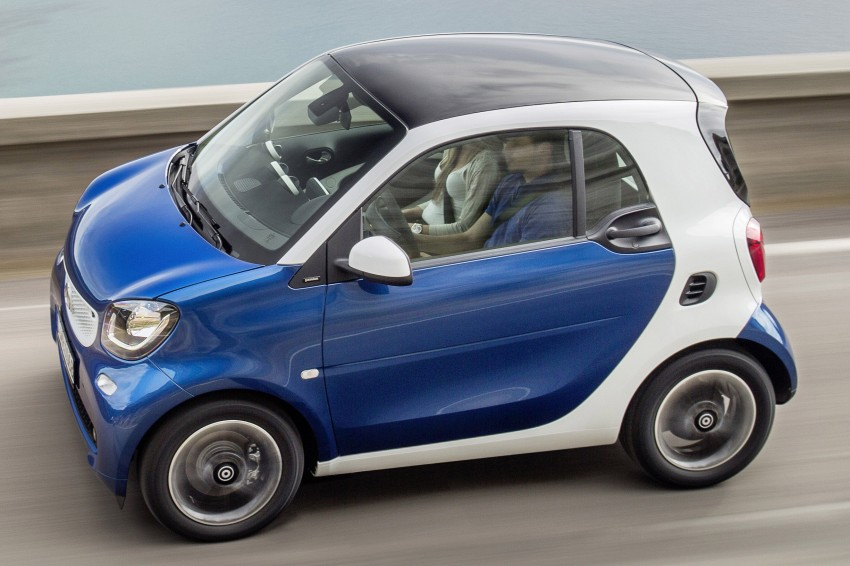 2015 smart fortwo and smart forfour city cars unveiled Image #259270