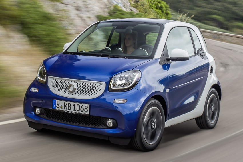 2015 smart fortwo and smart forfour city cars unveiled Image #259298