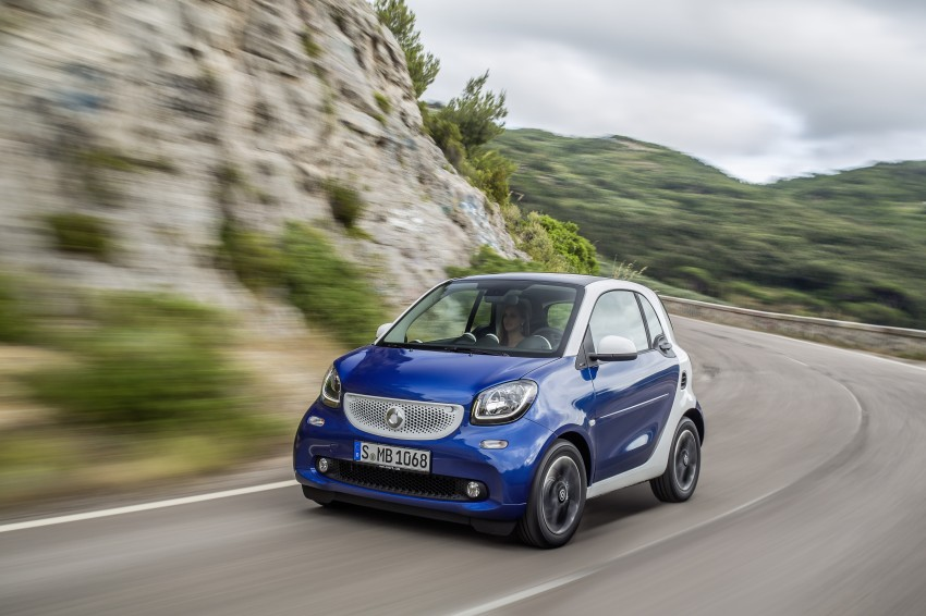 2015 smart fortwo and smart forfour city cars unveiled Image #259452