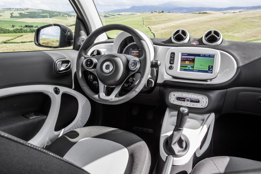 2015 smart fortwo and smart forfour city cars unveiled Image #259453