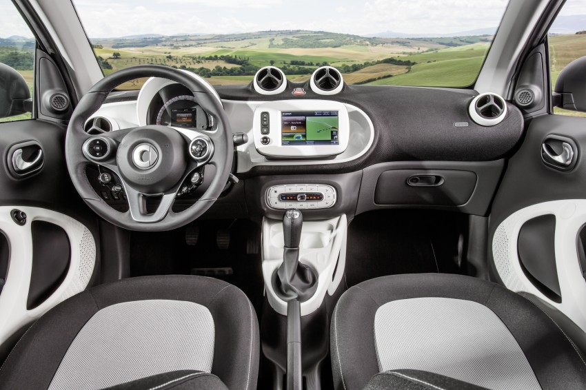 2015 smart fortwo and smart forfour city cars unveiled Image #259454