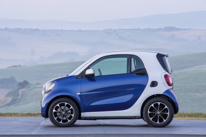 2015 smart fortwo and smart forfour city cars unveiled Image #259455