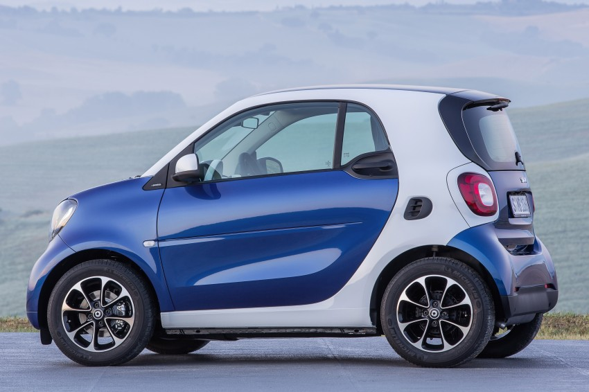 2015 smart fortwo and smart forfour city cars unveiled Image #259300