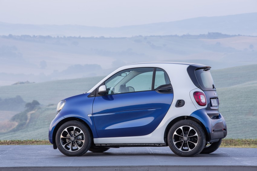 2015 smart fortwo and smart forfour city cars unveiled Image #259456
