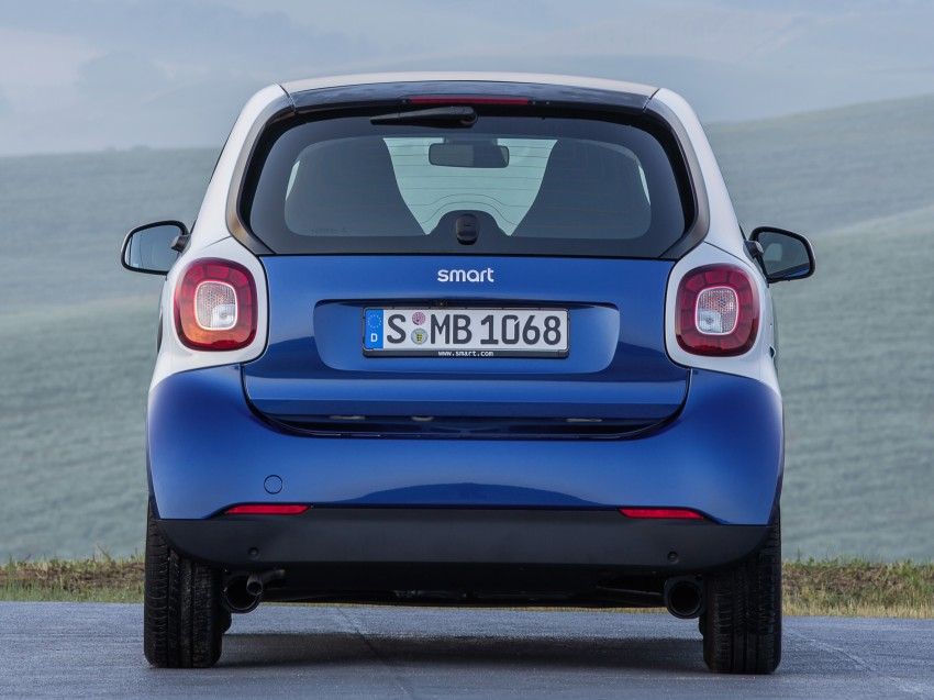 2015 smart fortwo and smart forfour city cars unveiled Image #259302