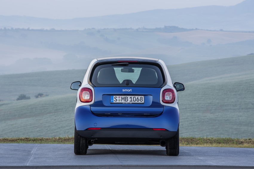 2015 smart fortwo and smart forfour city cars unveiled Image #259458