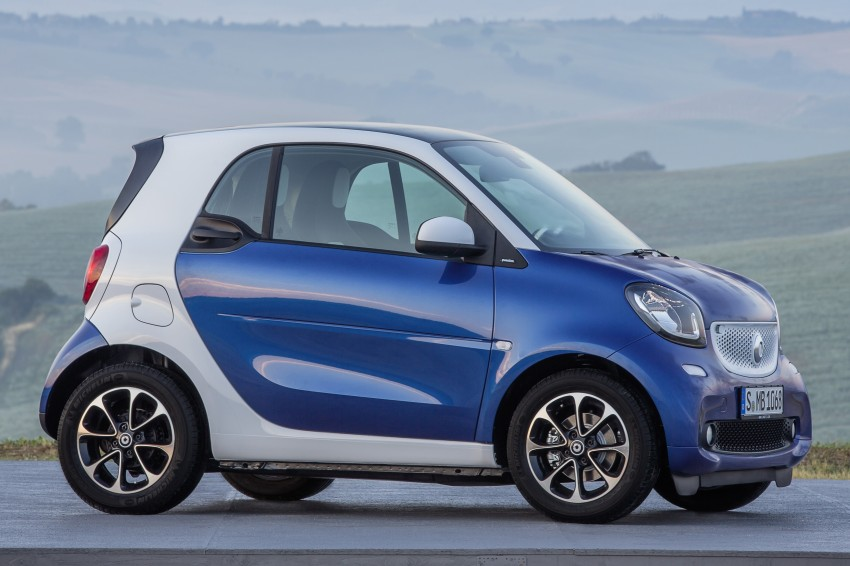 2015 smart fortwo and smart forfour city cars unveiled Image #259303