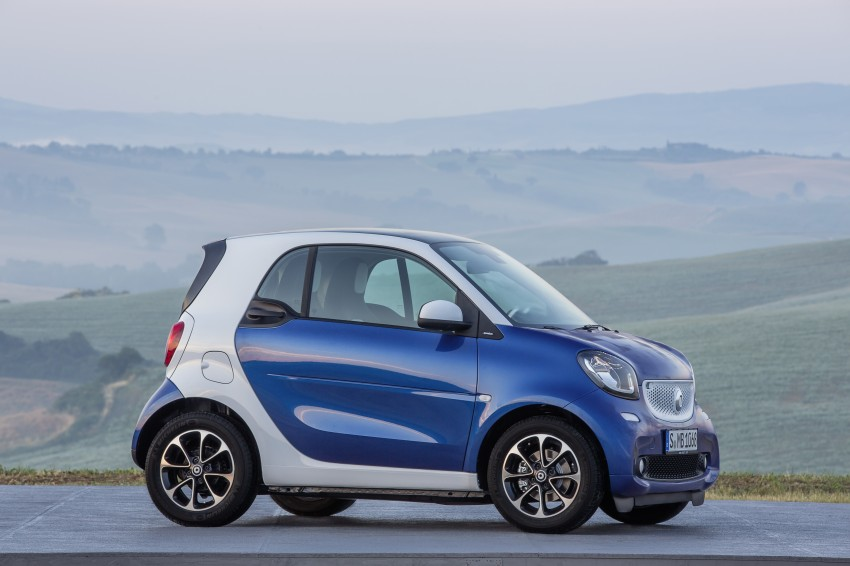 2015 smart fortwo and smart forfour city cars unveiled Image #259459