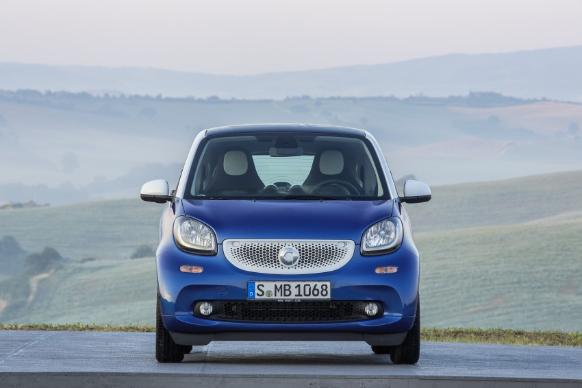 2015 smart fortwo and smart forfour city cars unveiled Image #259460