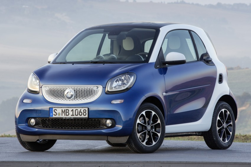 2015 smart fortwo and smart forfour city cars unveiled Image #259280