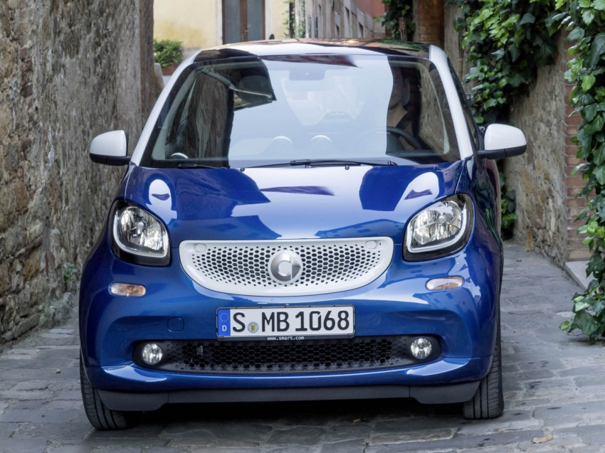 2015 smart fortwo and smart forfour city cars unveiled Image #259281