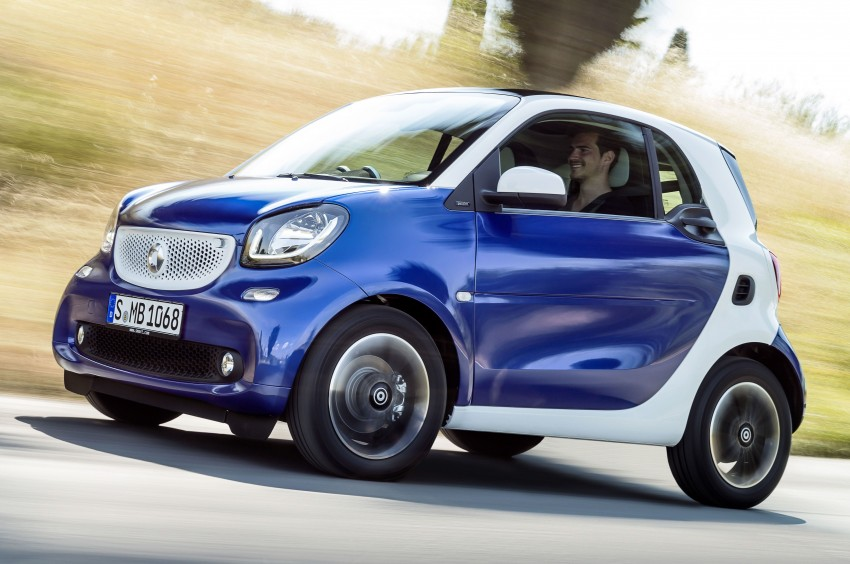 2015 smart fortwo and smart forfour city cars unveiled Image #259284