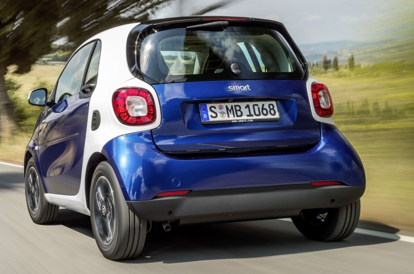 2015 smart fortwo and smart forfour city cars unveiled Image #259285