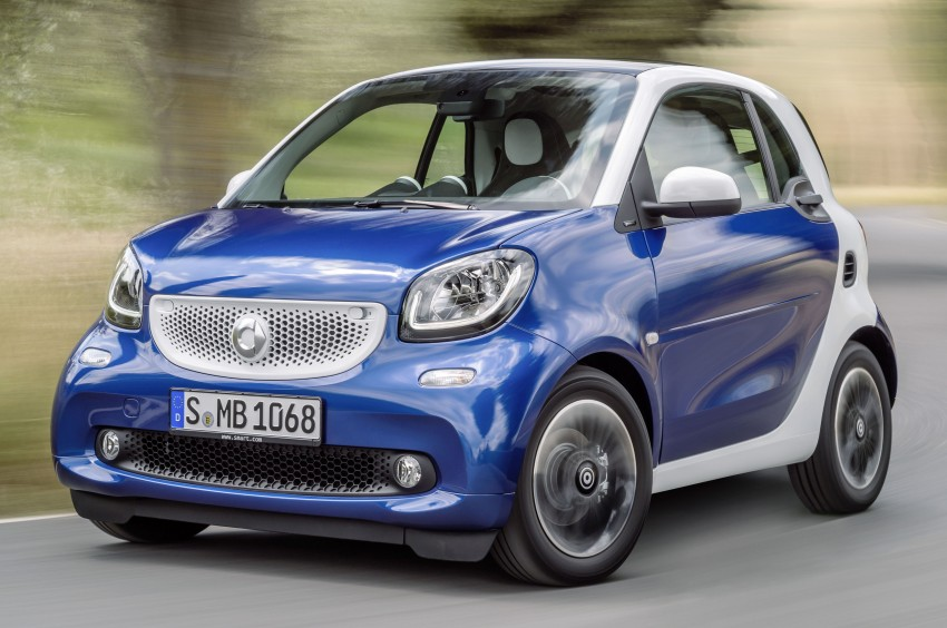 2015 smart fortwo and smart forfour city cars unveiled Image #259286