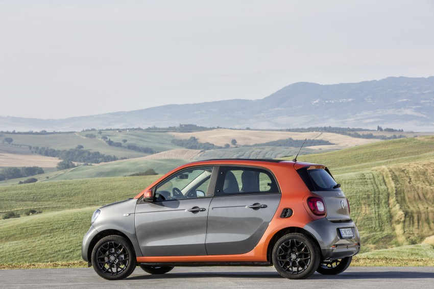 2015 smart fortwo and smart forfour city cars unveiled Image #259443